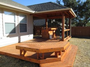 Custom Wooden Deck