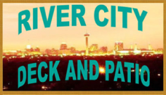 San Antonio River City Deck and Patio Logo
